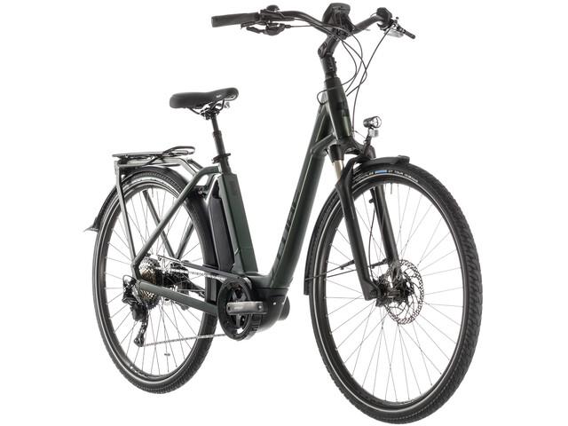 Cube Town Sport Hybrid EXC 500 E-citybike Easy Entry grøn (2019) | City-cykler